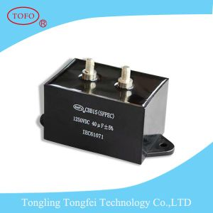 High Ripple Current DC Filter Welding Inverter Capacitor Cbb15 pictures & photos
