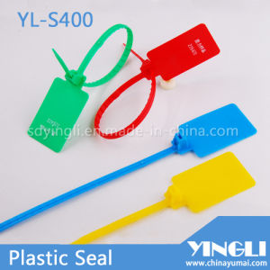 Plastic Label Security Seals with Big Marking Area (YL-S400) pictures & photos