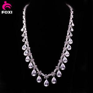 Elegant Fashion Zircon Fine Jewelry Necklace pictures & photos