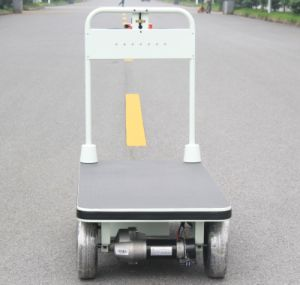 Electric Motor Trolley with Big Wheels for Transportation (HG-1030)