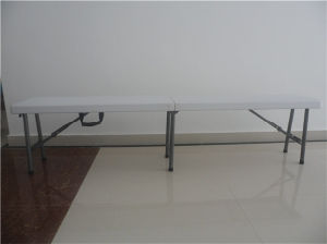 6FT Outdoor Furniture of Plastic Folding Bench for Outdoor Use