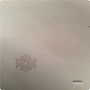 Jacquard Lining Fabric Woven Embossed Polyester Fabric for Suit