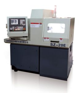 Swiss Type CNC Automatic Lathe Vertical Cutting Machine Sz20e1 pictures & photos