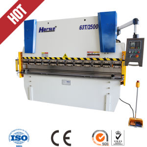 Wc67y-63t2500hydraulic Press Brake/CNC Bending Machine with Good Quality pictures & photos