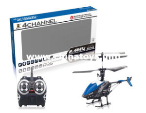 2.4G 4CH Remote Control Helicopter Plane Toy (BLUE/RED) (834612) pictures & photos