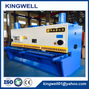 CNC Hydrauilc Shear, Metal Plate Cutting Machine pictures & photos