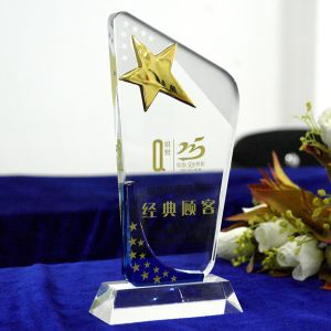 New Design Crystal Trophy with Good Price for Christmas Gift pictures & photos