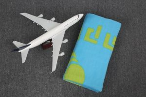 100% Polyester Fleece Airline Blanket (anti-pilling)