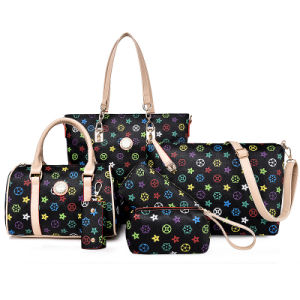 Top Quality Set Lady Handbag 6PCS Fashion Designer Bag (XM0132) pictures & photos