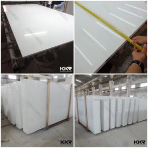 2cm White Engineered Quartz Stone with Mirror Chips 170220 pictures & photos