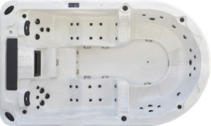 Monalisa Whirlpool Hot Tub for Outdoor M-3361 pictures & photos