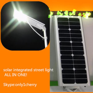 40W All in One Solar LED Lamp, Solar Outdoor Lighting, Solar Road Lamp pictures & photos