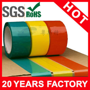 Colored Film Glue Adhesion Box Tape pictures & photos