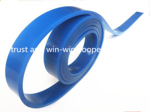 Blue PU Squeegee Blade 50*9*4000mm 75A pictures & photos