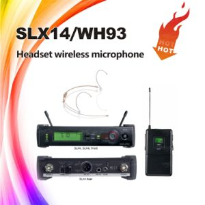 Slx Headset Wireless Microphone, Condenser UHF Microphone 800MHz to 820MHz pictures & photos