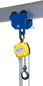 0.25ton-De10ton Hand Chain Block with Trolley pictures & photos