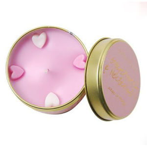 Luxury Glass Soy Wax Candle Jar for Christmas Gift