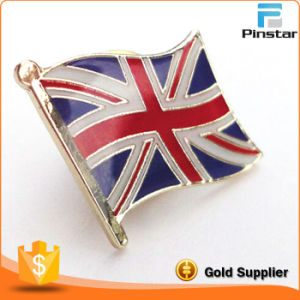 Directly Wholesale High Quality Custom Union Jack Lapel Pins pictures & photos