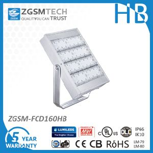 Ce SAA UL Approved 160W Garden LED Flood Light with 5 Years Warranty pictures & photos