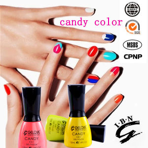 New Arrival 93 Colors Rainbow One Step UV Gel Nail Polish, 3 in 1 Nail Art Gel pictures & photos