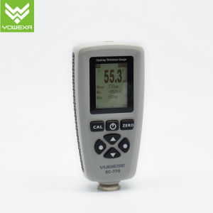 Compact High Precision Car Coating Thickness Gauge with 2 in 1 Probe ec-770 pictures & photos