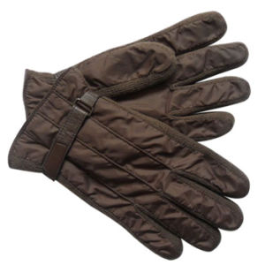 Men′s Fashion Nylon Taffeta Knitted Ski Warm Gloves (YKY5060) pictures & photos