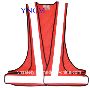 High Visibility Safety Workwear Reflective Vest with Reflective Tape pictures & photos