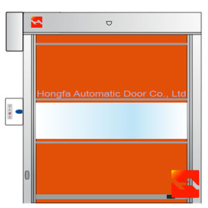 Packing Workshop PVC Automatic Fast Roll up Doors (HF-32) pictures & photos