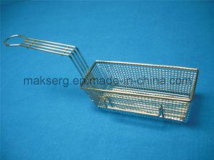 Steel 201 304 Deep Fry Basket 11′′ Mesh Basket Rectangle pictures & photos