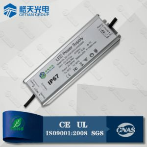Constant Current 2400mA 80W LED Transformer IP67 Aluminum Housing pictures & photos