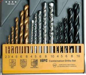 HSS Combination Drill Bits Set (High Speed Steel twist drill) DIN338, DIN340, DIN345 HSS Step pictures & photos