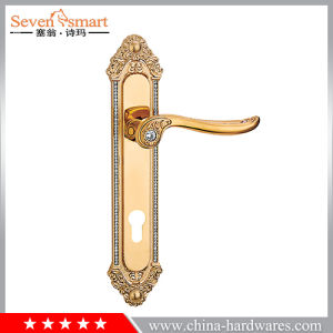 Interior Door Lever Handle on Plate (FM005)