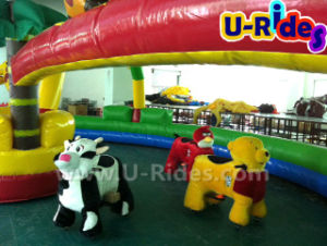 walking Animal Ride for Kids with one parents pictures & photos