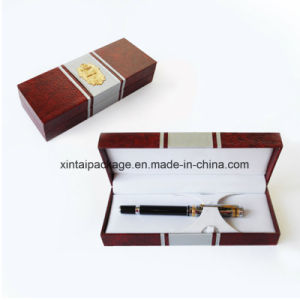 Wood, Plastic Cardboard Pencil Box with PU, Velvet pictures & photos