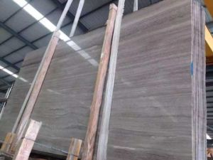 Grey Wood Vein Marble Slabs pictures & photos
