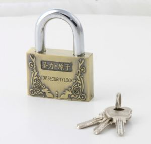 Zinc Alloy Arc Shape Atom Padlock pictures & photos