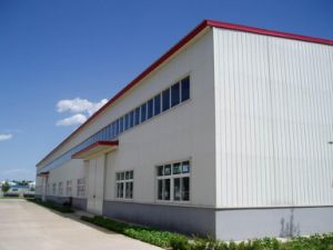 Approved Prefabricated Steel Frame Workshop pictures & photos