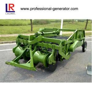 Gear Drive Potato Harvester with 2 Working Rows pictures & photos