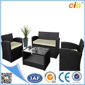 New 4 PCS PE Rattan Outdoor Furniture Set pictures & photos