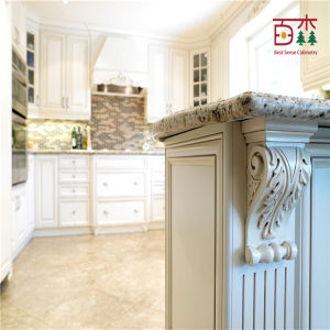 Guangzhou Pastoral Style Kitchen Cabinet Door pictures & photos