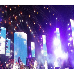 P12.5 Cheap Price Mesh Grid LED Screen HD Video Wall for Concert