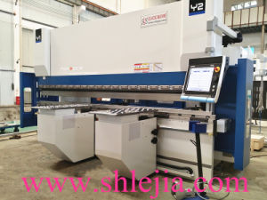 Press Brake (PSH-110T/4100SCM, 6+1axes, sell to Czech) pictures & photos