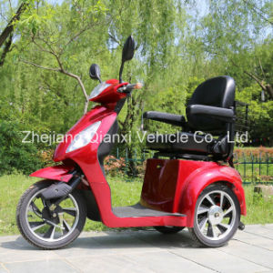 Three Wheel Outdoor Electric Mobility Elderly Vehicle / E-Scooter (St095) pictures & photos
