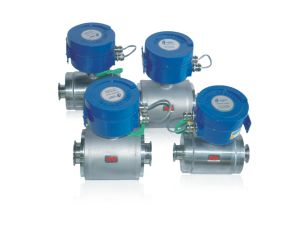 Electromagnetic Flow Meter for Liquid Sewage Water Oil Gas pictures & photos