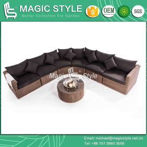 Toto Sofa Set Combination Sofa Garden Sofa Set Rattan Sofa Outdoor Furniture Rattan Sofa Wicker Sofa Patio Furniture (MAGIC STYLE) pictures & photos