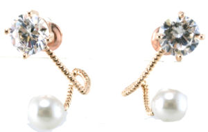 New Design for Woman′s Pearl Earring 925 Silver Jewelry (E6536) pictures & photos
