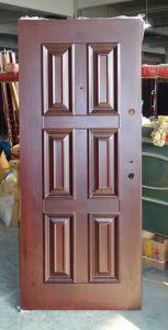 Six Panel Deep Embossing Quality Metal Door pictures & photos
