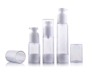 Luxury Clear Airless Lotion Bottle pictures & photos