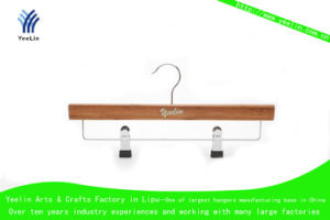 Cheap Affordable Original Wooden Hanger (YLBM33512-NTLB1) pictures & photos