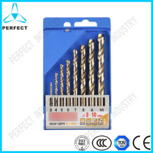 8PCS Fully Ground M35 HSS Cobalt Drill Bit, 3-10mm pictures & photos